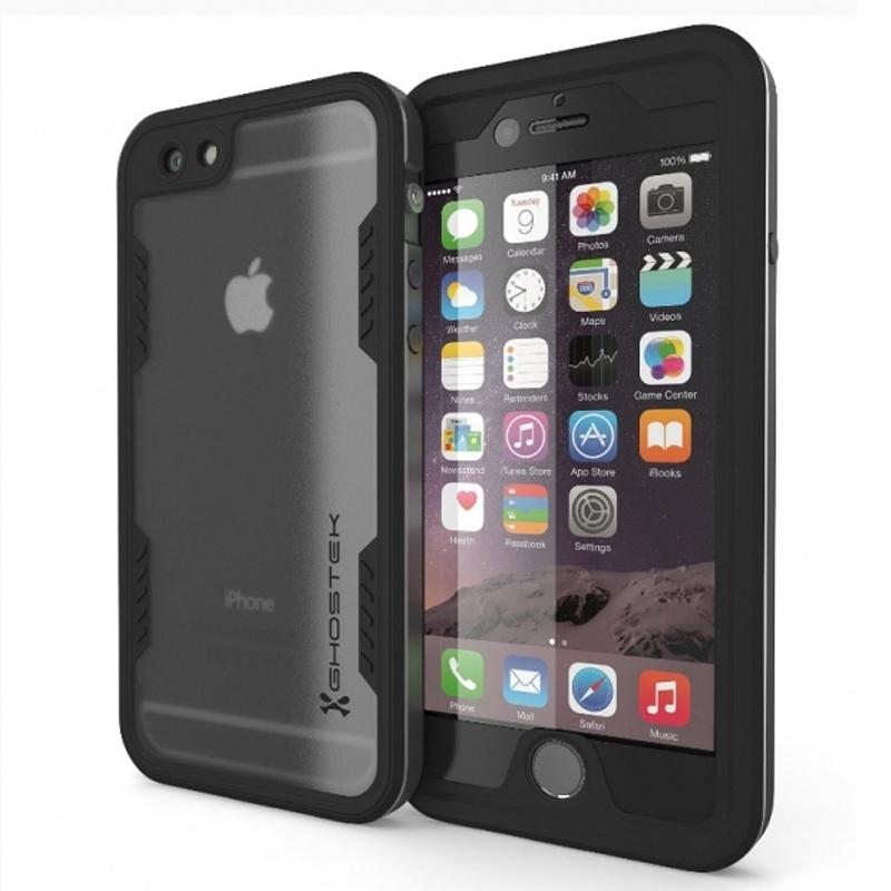 Ghostek Atomic 2.0 Waterproof Case-Hoesje Apple iPhone 6 Plus-6S Plus Space Gray