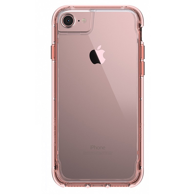 iPhone 8-7-6-6S Griffin Survivor Clear Case Rose Gold