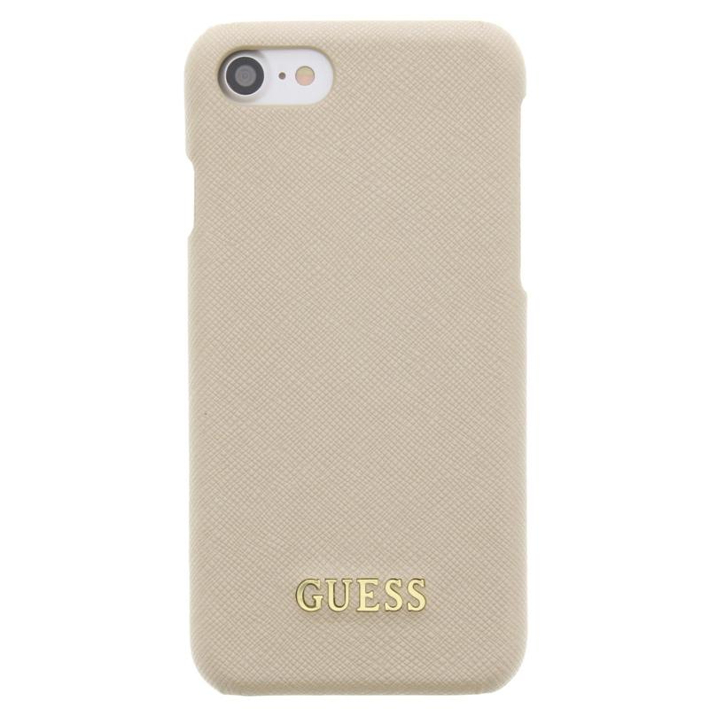 Saffiano Collection Hard Case voor de iPhone 7 Beige