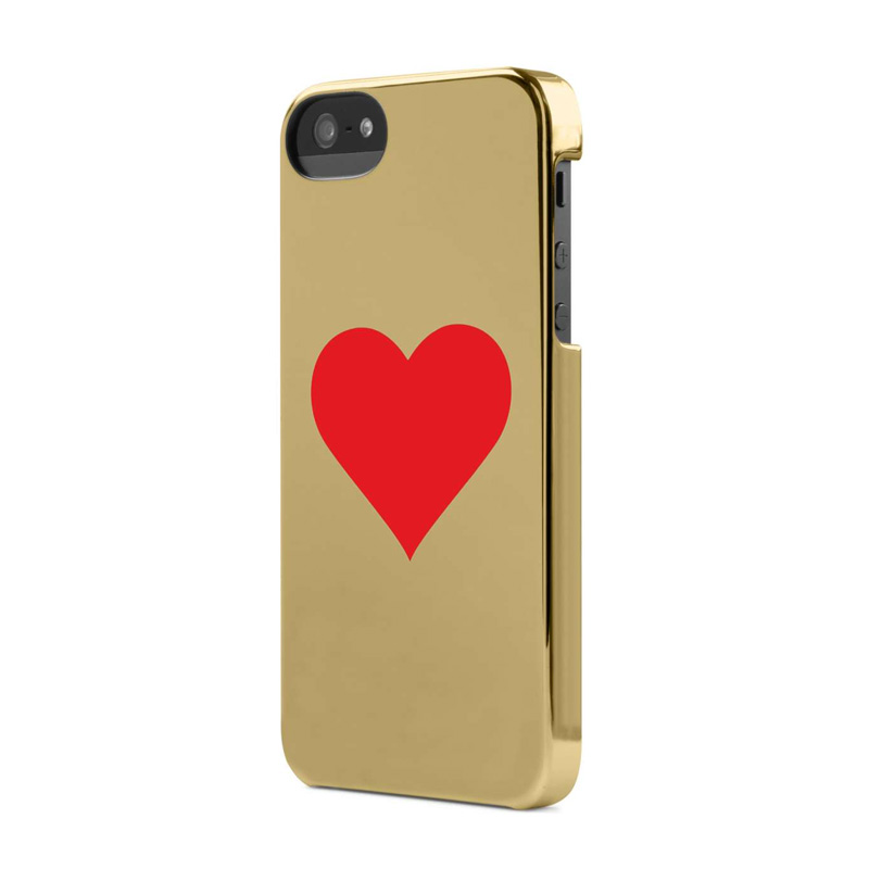 iPhone-Cases Incase Hearts Snap Case iPhone 5/5S Gold