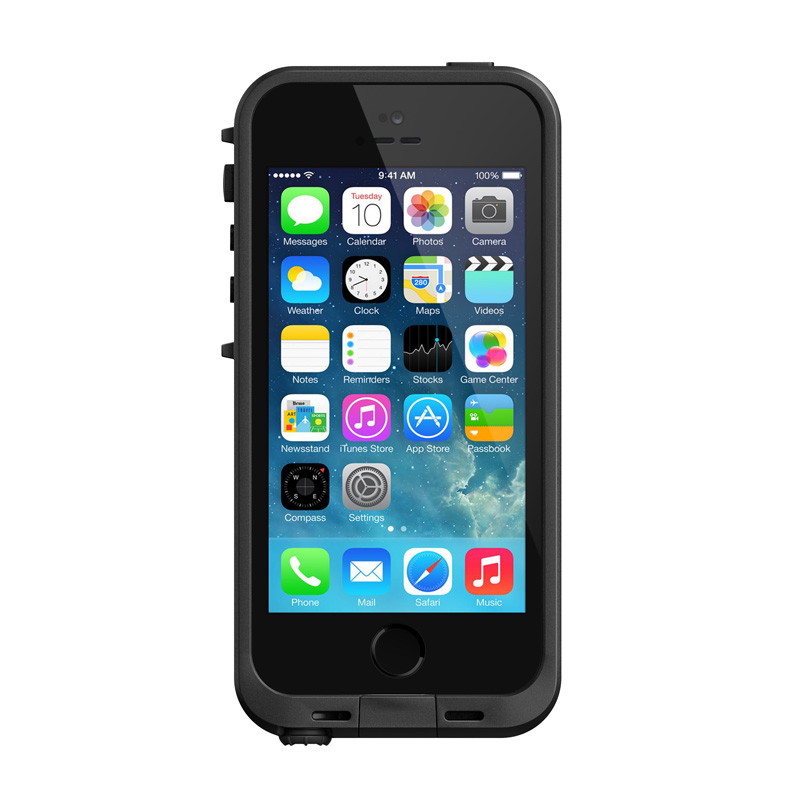 Lifeproof iPhone 5-5S-SE Fre Case Black