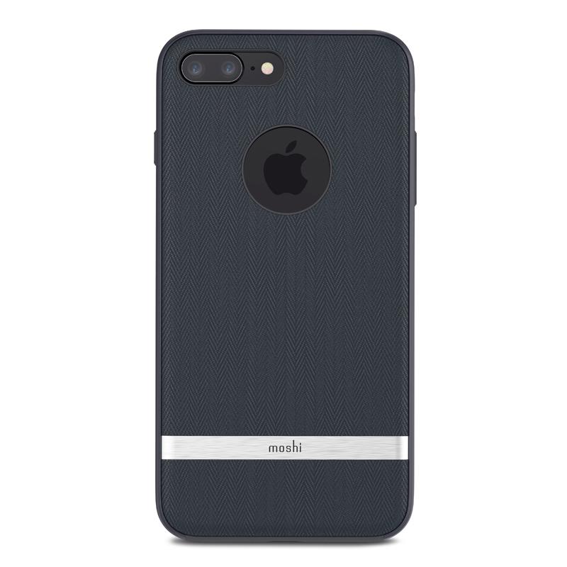 iPhone 7 Plus-iPhone 8 Plus Moshi Vesta Cover Bahama Blauw