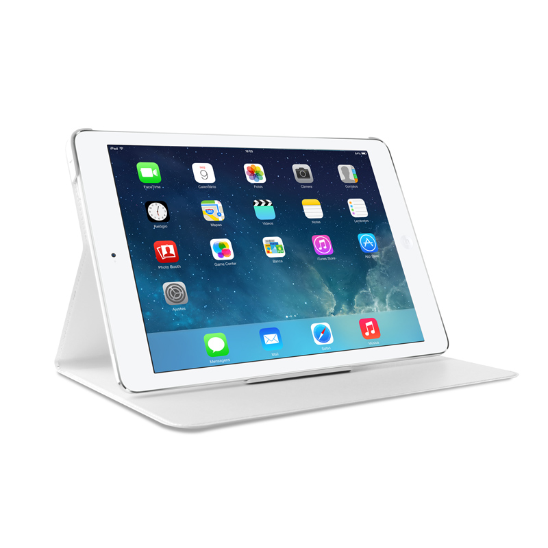 PURO Puro iPad Air 2 Booklet Slim Case With StandUp White (IPAD6BOOKSWHI)