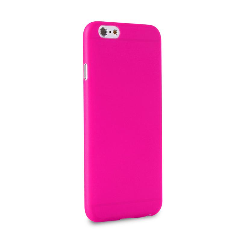 PURO Puro iPhone 6 UltraSlim 0.3 mm Cover With Screenprotector Pink (IPC64703PNK)