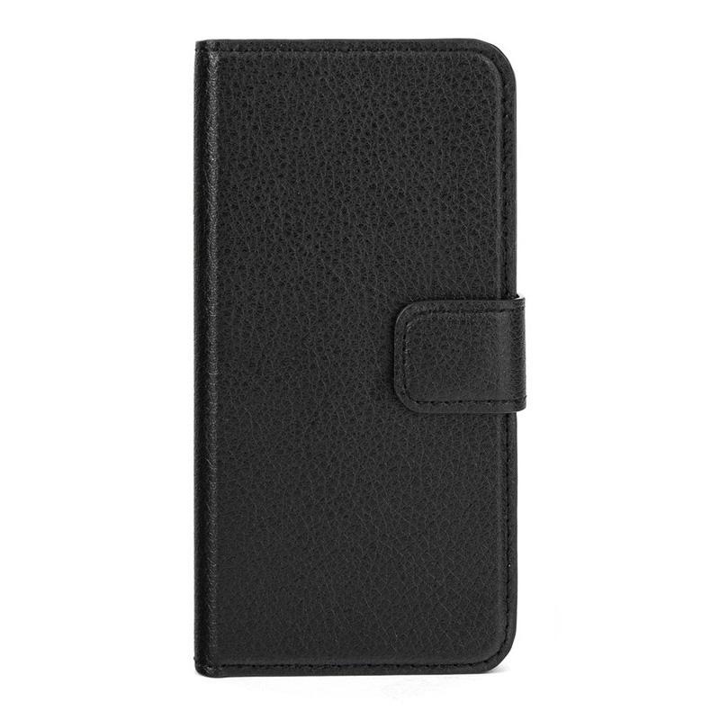Xqisit iPhone 5S slim wallet case zwart