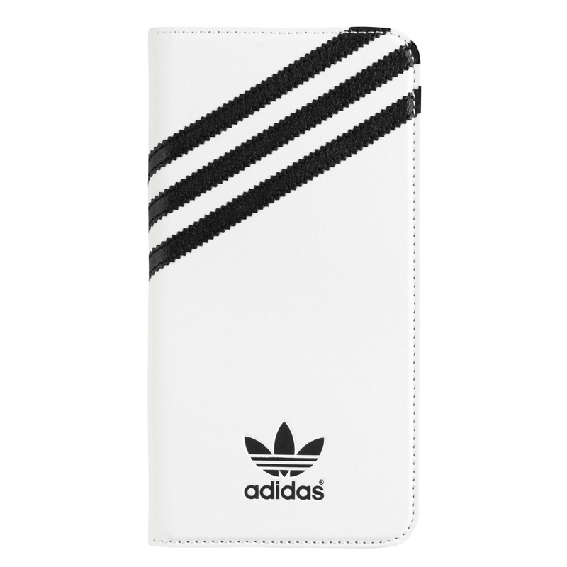 Adidas Originals Booklet Case White-Black iPhone 6 Plus-6S Plus