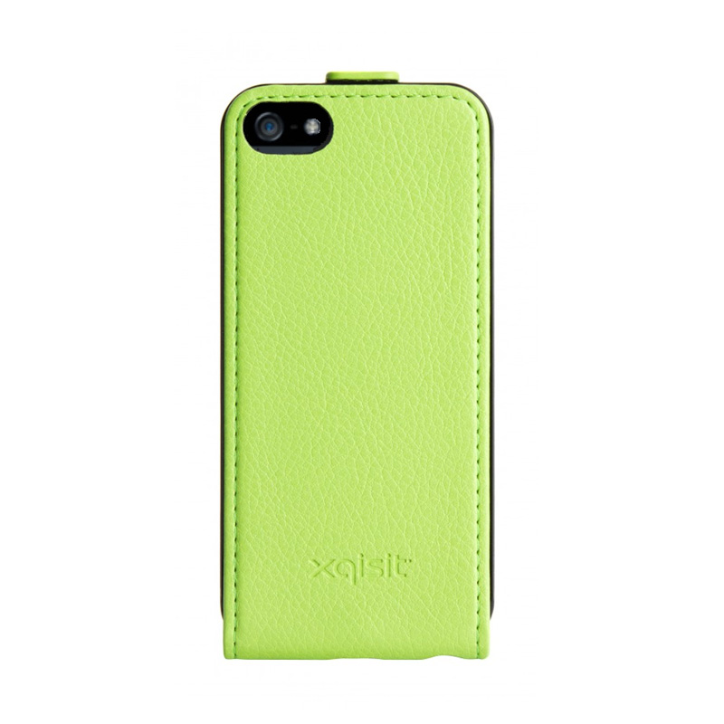 iPhone-Cases Xqisit Flipcover iPhone 5/5S Green