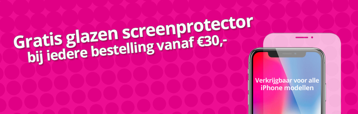 Gratis iPhone Screenprotector - actie