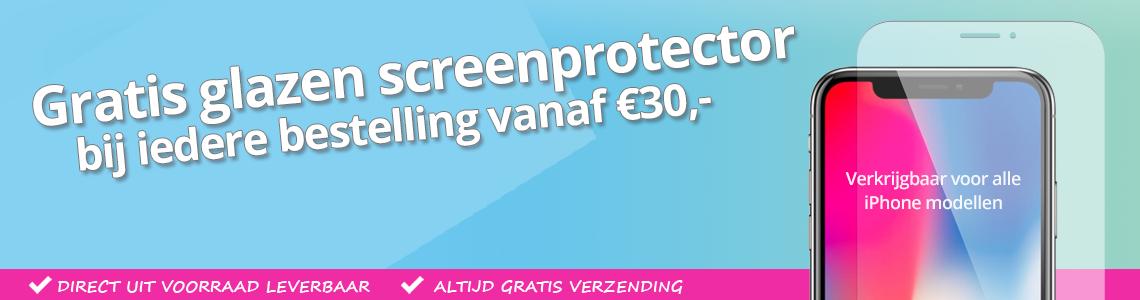 Bescherm je beeldscherm met een glazen iPhone screenprotector