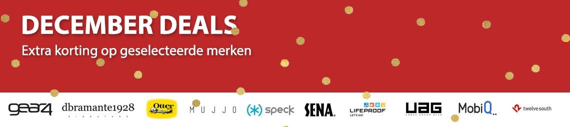 De beste december deals vind je natuurlijk bij iPhone-Cases.nl