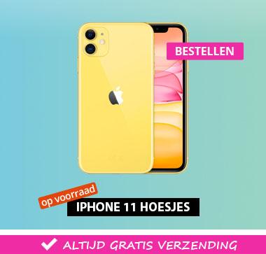 Geef je iPhone 11 een nieuwe look met een nieuw hoesje