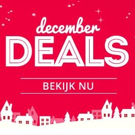 December deals op vele merken