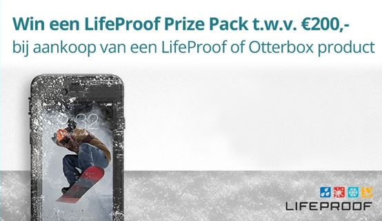 Lifeproof Otterbox - WIN Gratis producten