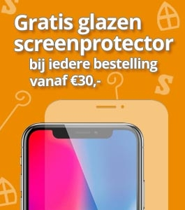 Gratis iPhone Screenprotector - Sint actie